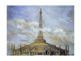 Project of Transformation of the Eiffel Tower for the 1900 Universal Exhibition