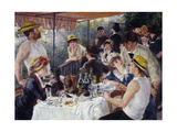 Luncheon of the Boating Party  1880-81