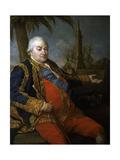 Vice-Admiral Pierre Andre De Suffren De Saint Tropez  Ca 1780
