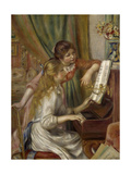 Young Women at the Piano  1892