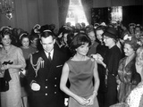 Jacqueline Kennedy at a Reception for the Wives of American Society of Newspaper Editors