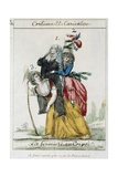 Female French Peasant Carry the Burden of the Women of the Church and Nobility  Late 18th Century