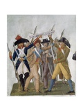French Citizens Fighting for Freedom or Death in the French Revolution  Ca 1789-1807