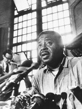 Rev Ralph Abernathy  Leader of the 'Poor Peoples Campaign' Held a Press Conference from Jail