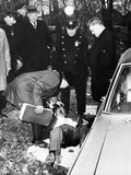 Vincent Barile Was Found Slumped in Front Seat of a Parked Car in the Bronx  Nyc  Jan 21  1966