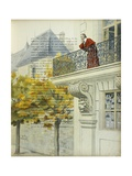 Richelieu on the Balcony of His Palace