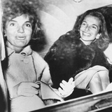 Jacqueline Kennedy  Tan from a Week's Vacation in Florida with Her Sister Lee Radziwill
