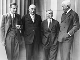 JP Morgan Jr with a Few of His Partners at the Senate Banking and Currency Committee Hearings