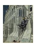 Marie De Medici Escapes the Castle of Blois