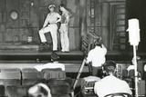 Henry Fonda Plays to an Audience of Lights and Television Cameras from the Broadway Stage