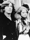 George Harrison and Wife Pattie Boyd Leave Walton and Esher Magistrates Court on March 18  1969