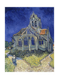 Church in Auvers-Sur-Oise  View from the Chevet 1890