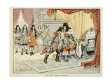 Louis XIV Kissing Marshall Turenne