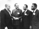 Three African-American Mayors with Housing and Urban to Development Secretary  Robert Weaver