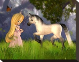Fairytale Princess & Unicorn