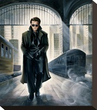 James Dean Parting Train