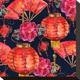 Oriental Chinese New Year Silk
