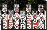 Maori Fence Rotorua N Zealand