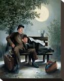 Laurel & Hardy Overnight Bench
