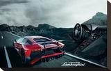 Lamborghini Aventador Cockpit