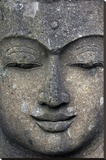 Rough Stone Buddha Face