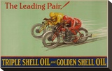 Shell Triple Oil & Golden Oil