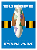 Europe - Only 7 Jet Magic Hours from New York - Pan American World Airways