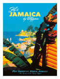 Fly to - Jamaica - by Clipper - Pan American World Airways