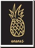 Ananas Black & Gold