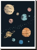 Planets Brushed