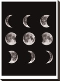 Moon Phases Black