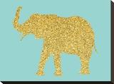 Gold Glitter Elephant