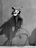 Troubadour - Uses of a Penny Farthing Borrowed from the Troubadour