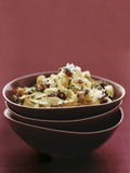 Tagliatelle with Chestnuts  Pancetta  and Sage
