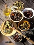 Olives in Bowls