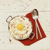 Spaghetti Carbonara with Egg