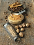 Cloves  Nutmeg  Cinnamon (Ground  Grated and Whole)