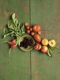 Radishes  Blackberries  Tomatoes and Nectarines