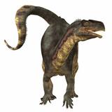 Plateosaurus Dinosaur  Front View