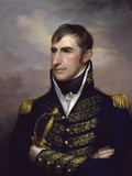 American History Painting of President William Henry Harrison
