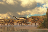 A Herd of Spinosphorosaurus