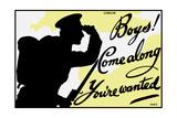 English World War One Propaganda Poster