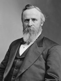 Vintage American History Photo of President Rutherford B Hayes