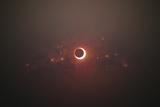 Eclipse of the Sun in Nearby Solar System