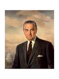 Presidential Portait of Lyndon Baines Johnson