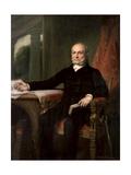 American History Painting of President John Quincy Adams
