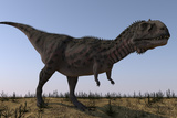 Majungasaurus in a Barren Environment