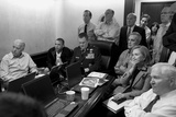 President Obama and His National Security Team in the White House Situation Room