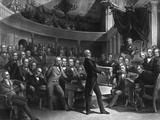 Senator Henry Clay Speaking About the Compromise of 1850 in the Senate