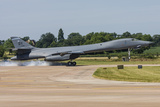 A B-1B Lancer of the US Air Force Touches Down at Raf Fairford